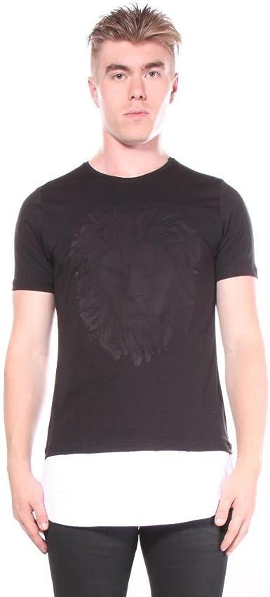 Open Black Lion - Camisetas - 2XL Hombres: Amazon.es: Ropa y accesorios