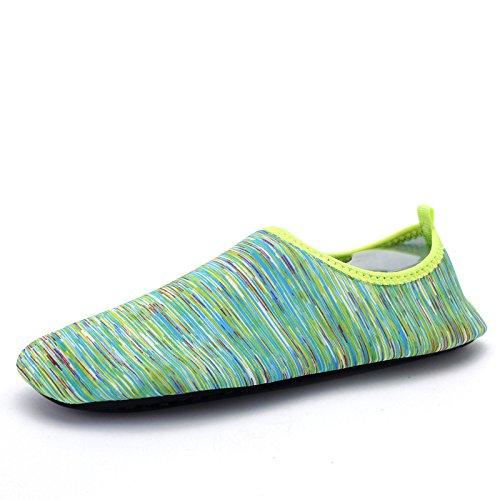 natación zapatos Lucdespo buceo S 167 verde vuelan al playa suave transpirable funcional multi Zapatos deportes libre de aire y elástica BB1AP4