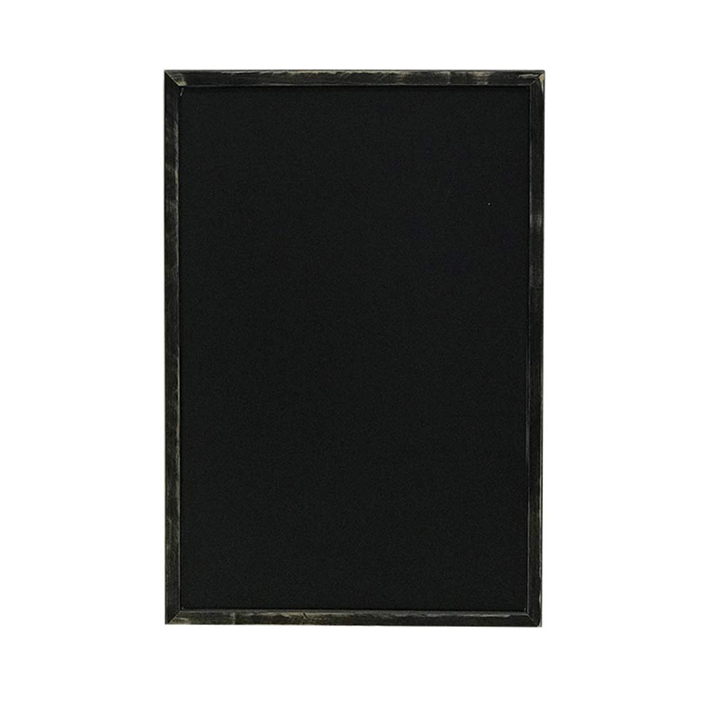 LIANGJUN Message Board Chalkboards Retro Simple Multifunction Graffiti Family Menu Card Coffee Shop Clothing Store,Customizable (Color : Black, Size : 50x70CM)