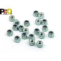 POPESQ® - 20 Piezas/pcs. x M4 Tuerca/Nut Autoblocante/Self-Locking