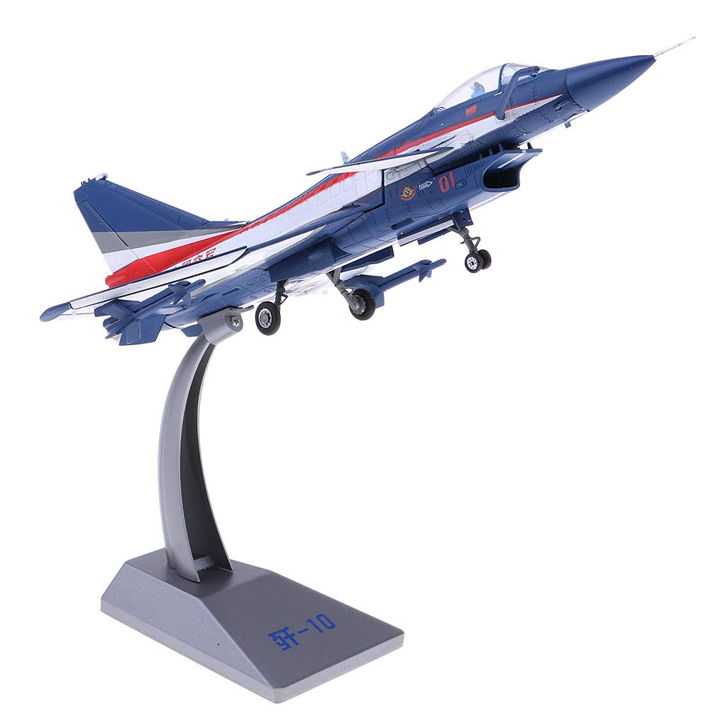 Fenteer 1/60 Kräftiges Drachenflugzeug Flugzeugmodell Militärflugzeuge Kämpfer Dekoration Spielzeug