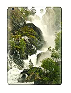 Jimmy E Aguirre's Shop 8752185K13904887 Hot Tpu Cover Case For Ipad/ Air Case Cover Skin - Waterfall