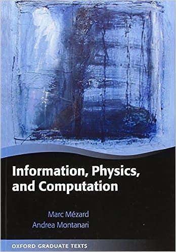 Physics Information and Computation