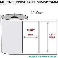 1 rotolo Coreless Carta sensibile al calore Tela per macchine mobili Pos Carta 57x30mm Carta per registratore di cassa Carta per piccoli biglietti colore: bianco