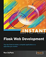 Instant Flask Web Development Front Cover