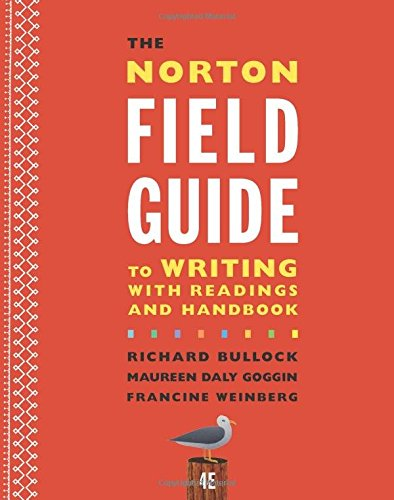 The Norton Field Guide to Writing with Readings and Handbook (Fourth Edition) cover