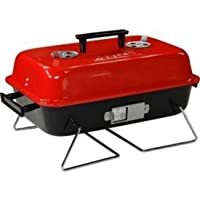 divinezon Round Barbeque Folding with Legs with 5 Skewers BBQ Charcoal Grill