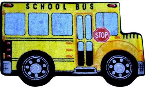 LA Rug School Bus Rug 31 x47