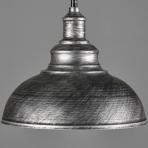 Silver Dome Pendant Light - 9