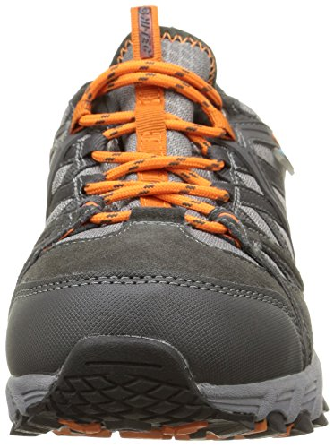 Hi-Tec Accelerate Wp - Zapatillas de deporte exterior Hombre Naranja - Orange (Graphite/Grey/Orange)