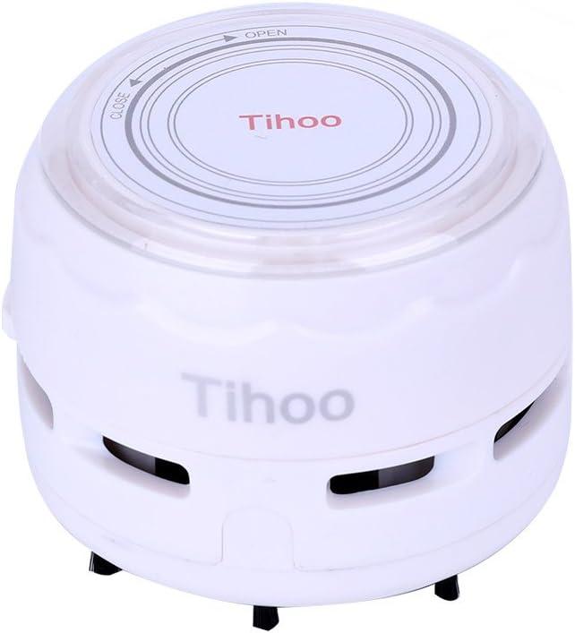 <br /> Tihoo 卓上掃除機 乾電池式 ミニクリーナー