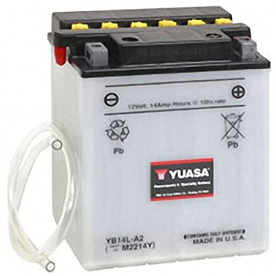 Yuasa YUAM2214Y YB14L-A2 Battery: Automotive