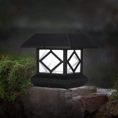 Lámpara de Pie al Aire Libre,ABEDOE Luz Solar del Jardín Lámpara de Pie Decorativa de Jardín al Aire Libre Impermeable por Ruta,Blanco Frío: Amazon.es: Iluminación