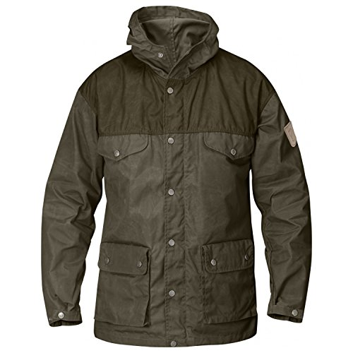 Fjällräven Greenland brown/green (Size: M) casual jacket by Fjallraven