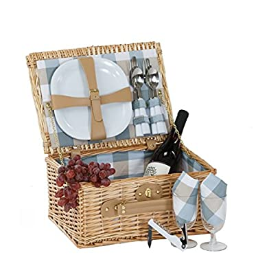 Boothbay Two person Picnic basket