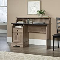 Sauder Graham Hill Desk in Salt Oak
