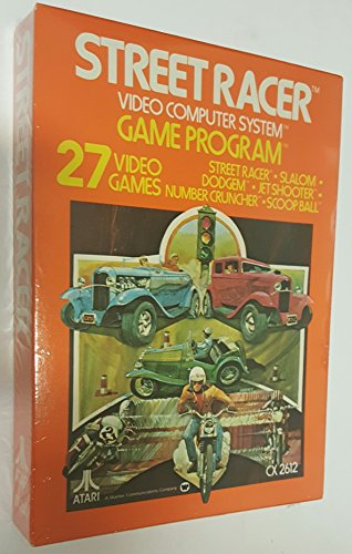 Street Racer (Atari 2600) - Antique Racers
