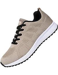 Men's Breathable Fashion Walking Sneakers Lightweight...