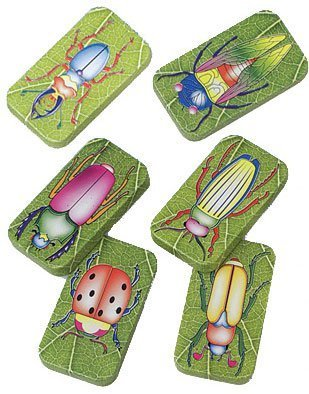 US Toy Assorted Insect Bug Design Clicker Noise Makers (1 Dozen), Green, 1-Pack of 12 ()