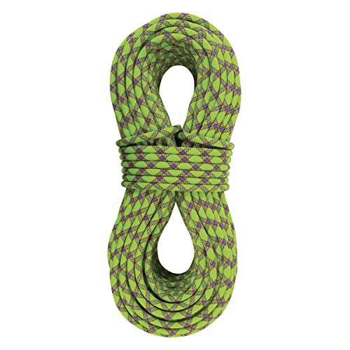[Sterling Rope Evolution Velocity Climbing Rope, 70m, Neon Green] (70m Dry Rope)