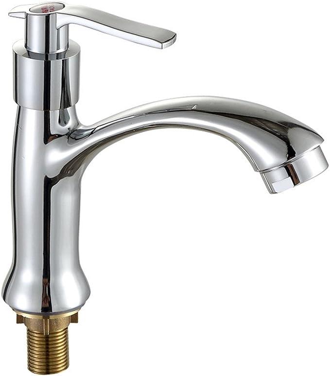 Laiton chrom/é Robinet deau froide /à levier unique K31-779N pour lavabo