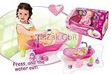 Babypuppen Badewanne Puppen Badewanne ink Zubehör+ Puppe