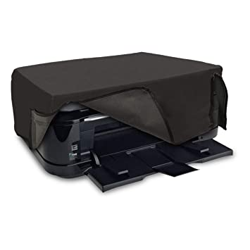 kwmobile Funda para Canon Pixma TS6250 / 6150/6151 / 6251/8150 / 8151/8152 / 9150 - Cubierta Protectora Antipolvo de Impresora - Forro Protector Gris ...