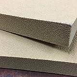 Kydex Pressing foam - 12 x 12 x 1 inch - Tan - 2 Pieces (one set)
