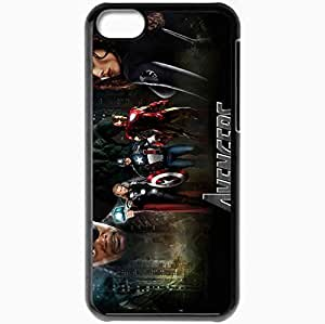 Personalized iPhone 5C Cell phone Case/Cover Skin 41007 Black