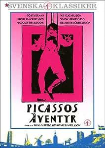 The Adventures of Picasso ( Picassos äventyr ) [ NON-USA FORMAT, PAL, Reg.2 Import - Sweden ]
