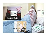 Bed & Chair Alarm with Wireless Pager - (No Alarm Near Patient) - Plus Kerr Absorbent Protector Pads