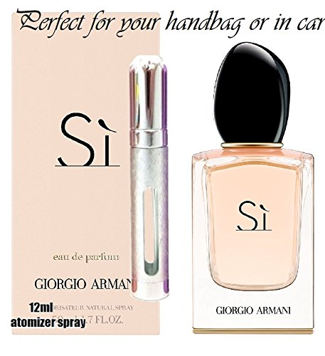 Giorgio Armani Si 6ml Or 12ml Edp Eau De Parfum Travel Spray
