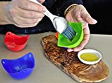 Silicone Egg Poachers PREMIUM (Set Of 5) Easy Clean Poaching Pods, Baking Mold Cups, Perfect Poached Eggs Everytime