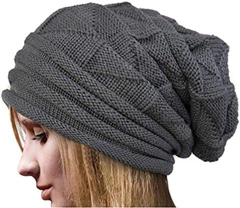 Crochet Mujeres Invierno Gorro de Lana Tejer Beanie Casquillos ...