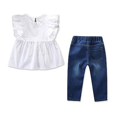 Amazon.com: Whitegeese - Conjunto de pantalones vaqueros ...