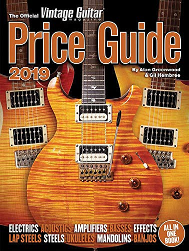 The Official Vintage Guitar Magazine Price Guide 2019