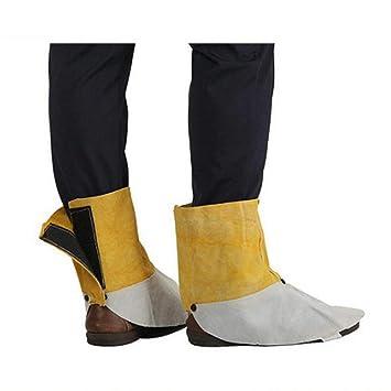 perfk 1 Par Zapatos Cubre Equipo Protector de Soldadura Tamaño Ergonómico Indumentaria de Seguridad: Amazon.es: Bricolaje y herramientas