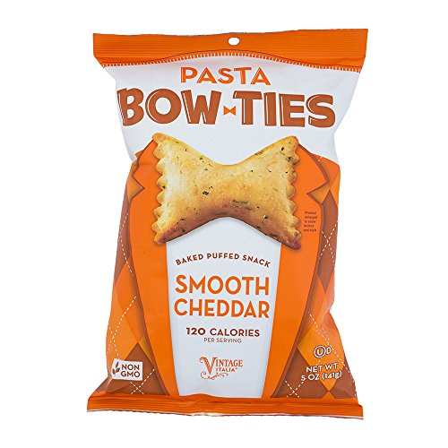 Pasta Bow Ties Smooth Cheddar Non GMO 5 Oz. Pack Of (Light Pasta Recipe)