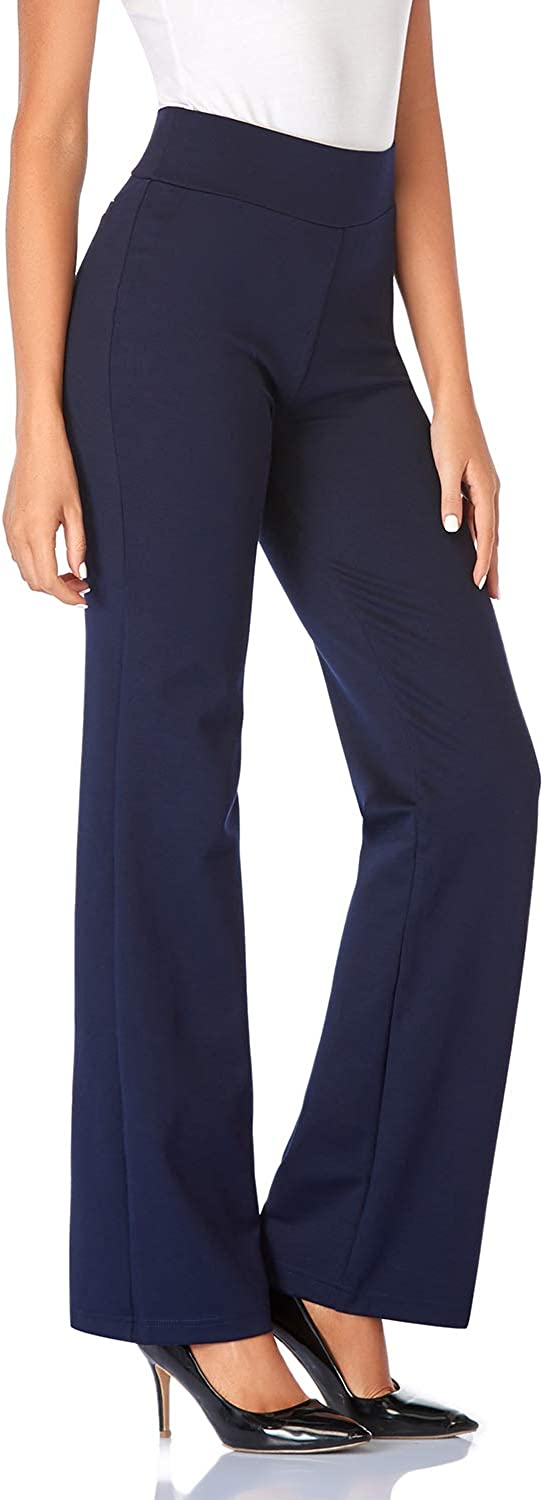 Tapata Women's 30''/32''/34'' High Waist Stretchy Bootcut Dress Pants Tall, Petite, Regular for Office Business Casual