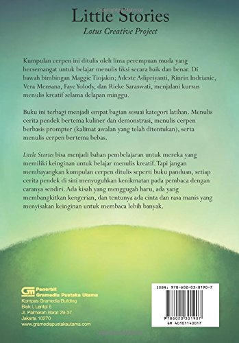 Little Stories Indonesian Edition Adeste Adipriyanti