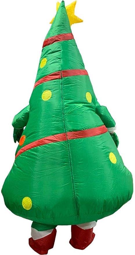 Sapin De Noel Gonflable hook.s Costume Gonflable drôle, vêtements de Sapin de Noël