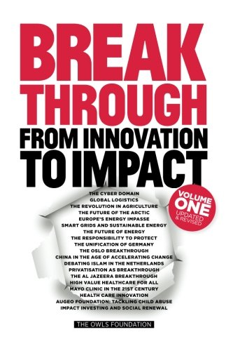 Book cover from Breakthrough: From Innovation to Impact by Henk van den Breemen (Ch.)
