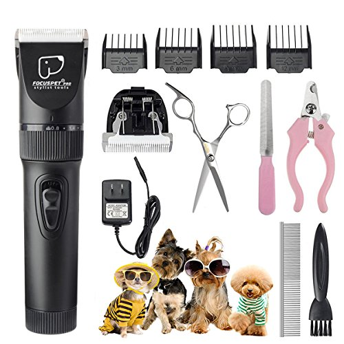 Grooming Clippers FOCUSPET Rechargeable Cordless product image