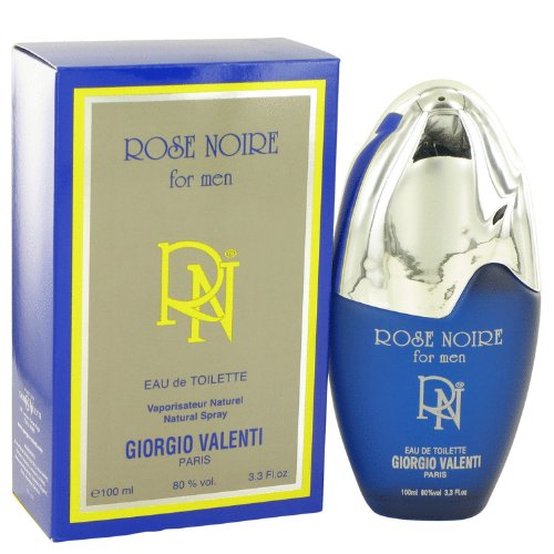 (ROSE NOIRE by Giorgio Valenti Men's Eau De Toilette Spray 3.4 oz - 100% Authentic)