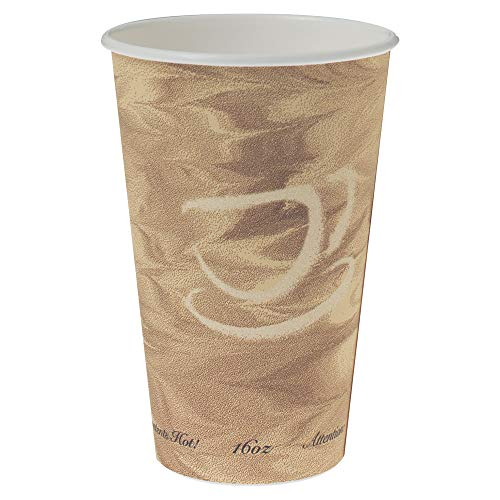 Solo 316MS-0029 16 oz Mistique SSP Paper Hot Cup (Case of 1000)
