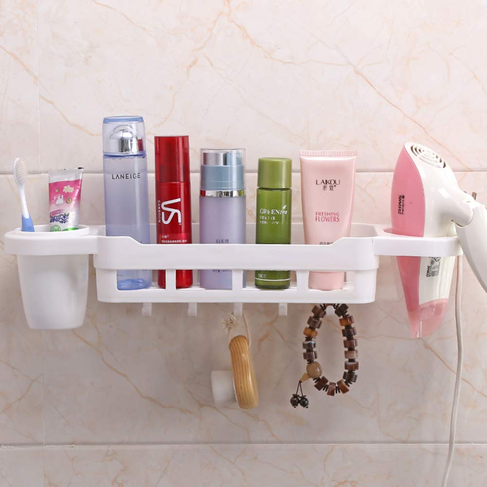 Hair Non-perforated Dryer Rack Wall Mounted Rack Bathroom Racks Bathroom Toilet Dryer Rack-H