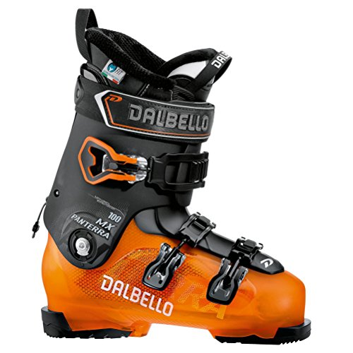 Dalbello Panterra MX 100 Ski Boots 2019-27.5/Orange-Black