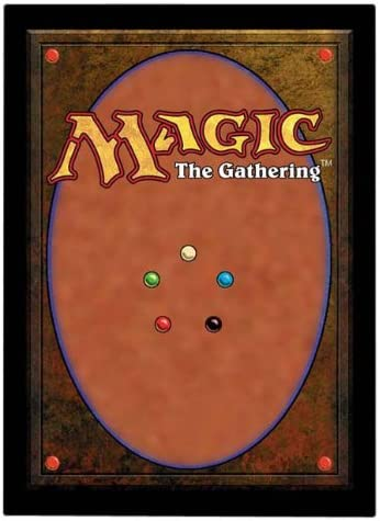 Count 80 Ultra Pro Magic the Gathering Card Back Deck Protector New