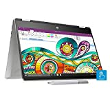 HP Pavilion x360 Core i3 8th Gen 14-inch Touchscreen 2-in-1 Thin and Light Laptop (4GB/256GB SSD/Windows 10/MS Office/Inking Pen/Natural Silver/1.59 kg), 14-dh0107TU