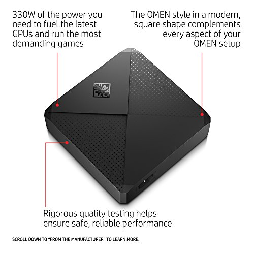 OMEN X by HP Gaming Power Adapter 330W (Black) by HP (Image #2)